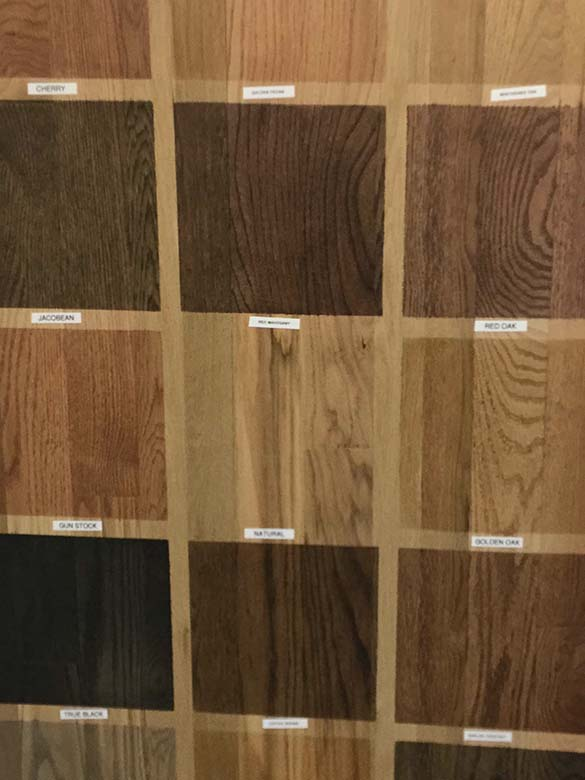 Stain Options Chesapeake VA